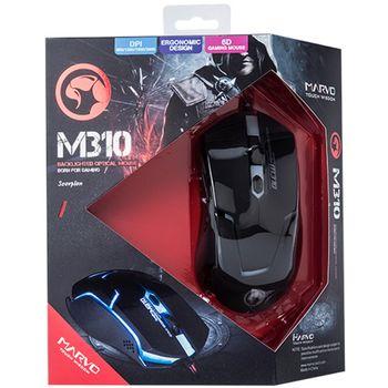 Mouse Marvo M310 Gaming, Black
