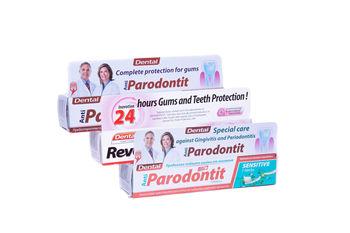 Pasta de dinti 100 ml DENTAL REV 24 H (Anti-Paradontit,Ultra Whitening,Repair)