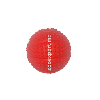 Мячик с пупырышками красный 5 см