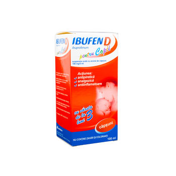 cumpără Ibufen D 100mg/5ml susp. orala 100ml în Chișinău