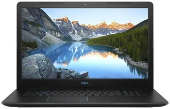 "DELL Inspiron Gaming 17 G3 Black (3779), 17.3"" IPS FHD (Intel® Core™ i7-8750H , 6xCore, 2.2-4.1GHz, 16GB (2x8) DDR4, 128GB M.2 PCIe SSD + 1TB HDD, GeForce® GTX1050Ti 4GB GDDR5, CardReader, WiFi-AC/BT4.1, 3cell,HD720p Webcam, RUS, Ubuntu, 2.79kg)"