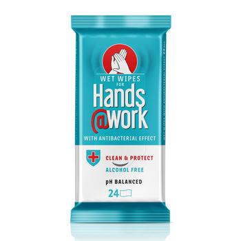 cumpără Hands Work Servetele umede cu efect antibacterian N24 în Chișinău