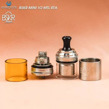 купить CLONE Vandy Vape Berserker BSKR V2 MINI MTL RTA в Кишинёве