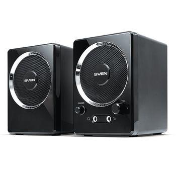 """купить Speakers  SVEN """"247"""" Black, 4w, USB в Кишинёве"""