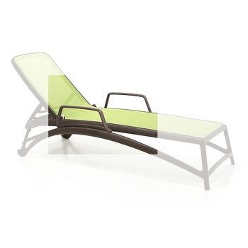 Подлокотник для шезлонга лежака Nardi BRACCIOLO ATLANTICO CAFFE 40452.05.000 (Подлокотник для шезлона лежака Nardi Atlantico)