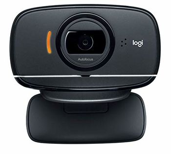 Logitech HD Webcam C525, Microphone, HD 720p video calls, 8 Megapixel images, Premium autofocus, Fold-and-go,  plus-swivel design, USB 2.0