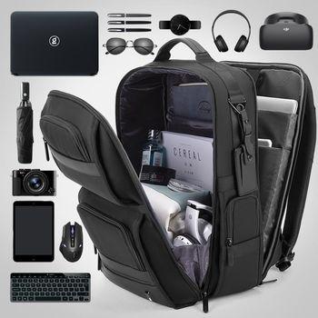 """cumpără Rucsac Bange BG-G62 pentru laptop 15.6 """", cu USB, impermiabil, negru în Chișinău"""