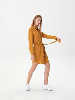 Платье HOUSE Горчичный vd510-11x