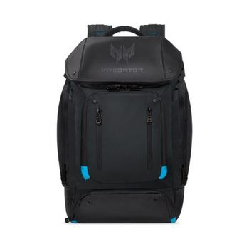 "15"" NB Backpack - ACER PREDATOR Utility Backpack, PBG591, Water Resistant, 1680D Ballistic Polyester Fabric, Tear Blue."