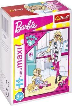"Пазлы- ""20 miniMAXI"" -Mattel, Barbie - ""Painter"", код 41672"