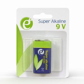 Gembird  Alcaline 9V 6LR61 1pcs, 500mA , High performance and long lifetime