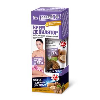cumpără Fito Cremă depilatoare pentru picioare, mâini, bikini, subrat pentru pielea sensibilă organic oil, 1 în Chișinău