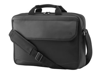 "HP NB Bag 15.6"" Prelude Top Load, padded compartment for notebook and internal pockets for cables and accessories; top zip closure and exterior flap pocket for easy access to the items you use most; 41 x 28.5 x 7.5 cm, Black"