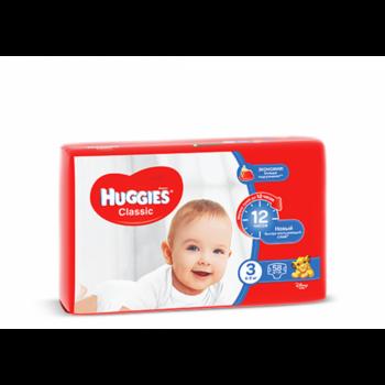 купить Huggies подгузники Classic Jumbo 3, 4-9кг,58 шт в Кишинёве