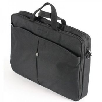 """CONTINENT NB bag 15.6"""" - CC-01 Grey, Top Loading"""
