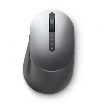 Dell Multi-Device Wireless Mouse - MS5320W, Titan grey, Wireless - 2.4 GHz, Bluetooth 5.0, Optical, 1600 dpi, 1 x AA Battery, 3 years Advanced Exchange Service