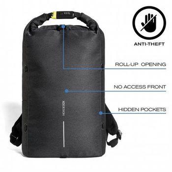 """15.6"""" Рюкзак для ноутбука Bobby Urban Lite P705.501, Black"""