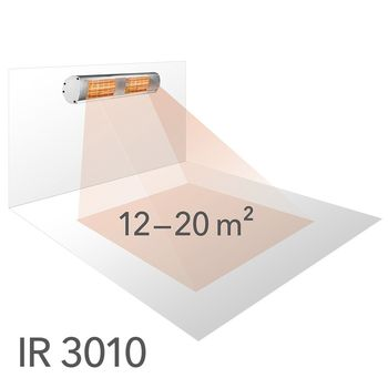 купить Инфракрасный радиатор TROTEC IR 3010 в Кишинёве