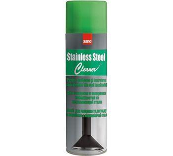 купить Sano Stainless Steel Средство для чистки поверхностей из нержавейки (500 мл) 423499 в Кишинёве