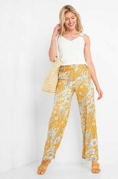 Pantaloni ORSAY Galben 355023