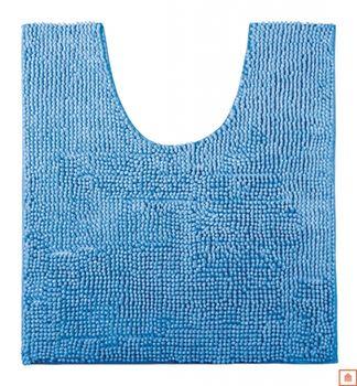 купить Коврик для туалета из шениллам синий 14756 в Кишинёве