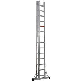 купить Трехсекционная лестница (3x12ст) TS205 в Кишинёве