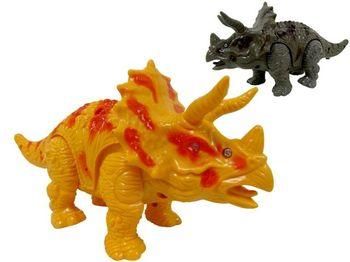 купить Динозавр (трицератопс) шагающий музыкальный 22cm в Кишинёве