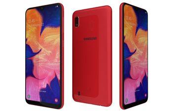 купить Samsung Galaxy A10 2019 2/32Gb Duos (SM-A105), Red в Кишинёве