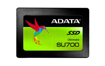 """2.5"""" SSD 120GB  ADATA Ultimate SU700, SATAIII, Sequential Reads: 560 MB/s, Sequential Writes: 320 MB/s, ADATA SSD Toolbox & Migration Utility, 3D NAND TLC"""