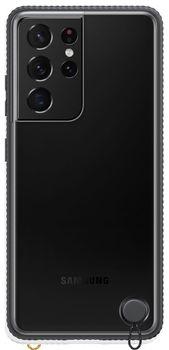 купить Чехол для моб.устройства Samsung Galaxy S21 Ultra EF-GG998 Clear Protective Cover Black в Кишинёве