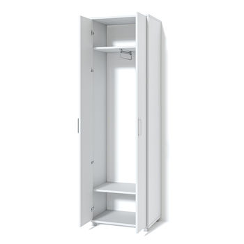 Система Модуль Платяной шкаф №2 белый ясень