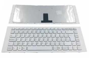Keyboard Sony VPCEG w/frame ENG. White
