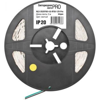 купить (1) Светодиодная лента (4.8W) NLS-3528Y60-4.8-IP20-12V-Pro R5  ценa/1m в Кишинёве