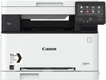 MFD Canon i-Sensys MF631CN, Color Printer/Copier/Scanner,Net,USB-Host, A4,18ppm,1GB,1200x1200dpi, 52-163g/m2,Scan 9600x9600dpi,150+1-sheet tray,UFRII,Max.30k pages per month, Cart 045HBk(2800p)/045Bk(1400p)+045HC/M/Y(2200p)/045C/M/Y(1300p)