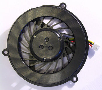 CPU Cooling Fan For HP Compaq CQ50 CQ60 CQ70 G50 G60 G70 (AMD, Round Version) (3 pins)