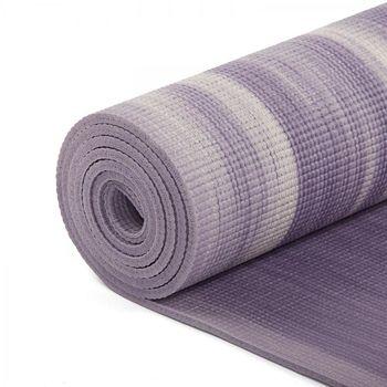 Mat pentru yoga  Bodhi Ganges PURPLE-WHITE  -6mm