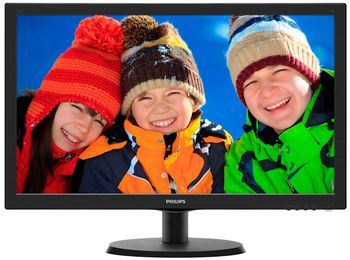 "cumpără ""21.5"""" Philips """"223V5LSB2"""", Black (1920x1080, 5ms, 200cd, LED10M:1) (21.5"""" TFT+LED backlight, Full HD(16:9) 1920x1080, 0.248mm, 5ms, SmartContrast: 10000000:1 (600:1), 200cd/m2, 90°/50° (C/R>10), H:30-83kHz, V:56-75Hz, D-Sub)"" în Chișinău"
