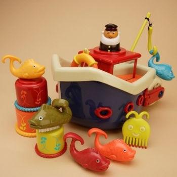 купить Battat Игровой набор для ванны Ловись Рыбка 12 еле в Кишинёве
