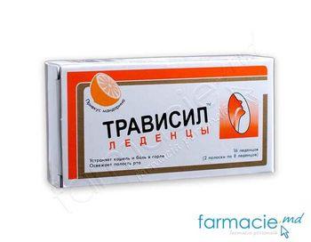cumpără Travisil pastile cu aroma de oranj N16 în Chișinău