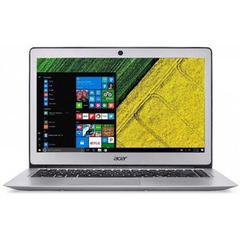 "ACER Swift 3 Sparkly Silver (NX.GQ5EU.013), 15.6"" FullHD (Intel® Core™ i3-7100U 2.40Hz (Kaby Lake), 8Gb DDR4 RAM, 256Gb SSD, Intel® HD Graphics 520, CardReader, WiFi-AC/BT, 4cell, HD Webcam, RUS, Linux, 1.5kg, 17.95mm)"