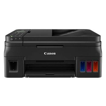 MFD Canon Pixma G4411, Color Printer/Scanner/Copier/FAX/Wi-Fi, ADF(20-sheet), A4, Print 4800x1200dpi_2pl, Scan 600x1200dpi, ESAT 12.2/8.7 ipm,64-275г/м2, LCD display_6.2cm,USB 2.0, 4 ink tanks: GI-490BK,GI-490C,GI-490M,GI-490Y