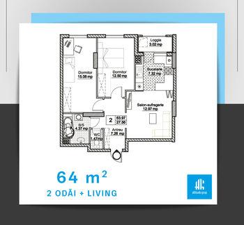 купить 1 квартира - a1 в Кишинёве