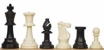 Шахматные фигуры пластиковые №6 French DCP03G (5245)