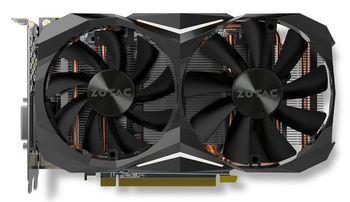 ZOTAC GeForce GTX 1070 Ti Mini 8GB DDR5, 256bit, 1683/8000Mhz, Dual Fan IceStorm, HDCP, DVI, HDMI, 3xDisplayPort, Medium Pack