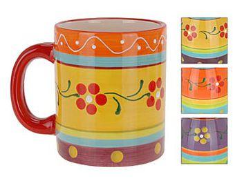Чашка с разноцветным орнаментом 320ml