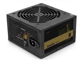 Блок питания ATX 600W Deepcool DA600N, 80+ Bronze, Active PFC, бесшумный вентилятор 120 мм