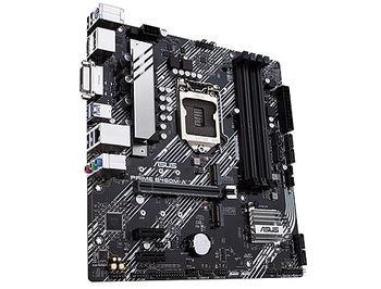 Материнская плата ASUS PRIME B460M-A Intel B460, LGA1200, Dual DDR4 2933MHz, PCI-E 3.0x16, DP 1.4/HDMI 1.4b/DVI-D, USB3.2, SATA RAID 6Gb/s, 2 x M.2 x4 Socket, Intel Optane, SB 8-Ch., GigabitLAN, AURA Sync RGB