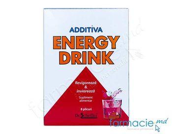 купить Additiva Energie Drink pulb./sol. orala 27,5 g N8 в Кишинёве