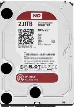 "3.5"" HDD 2.0TB  Western Digital WD20EFAX Caviar® Red™ NAS, IntelliPower, 256MB, SATAIII"