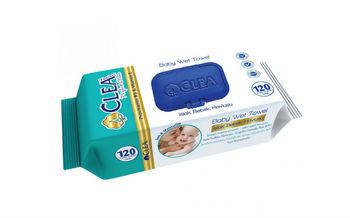 купить Влажные салфетки Clea Baby 120 шт в Кишинёве